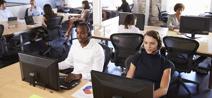 Keep Moving in the Call Centre