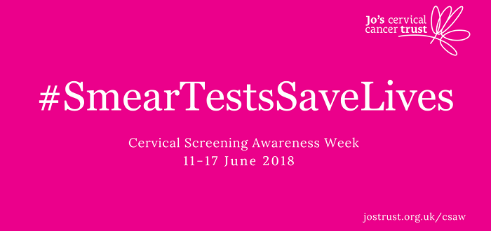 Cervical Screening Awareness Week 2018