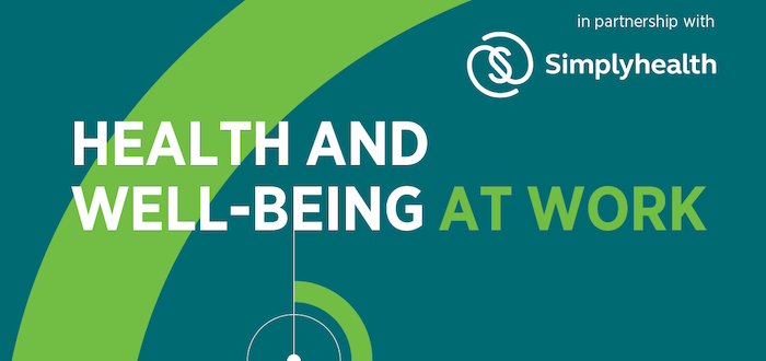 Health and well-being at work CIPD Survey 2020