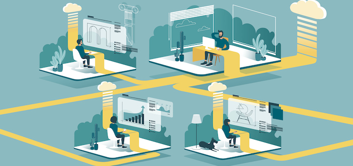 Is a hybrid of remote and on-site working right for the post-pandemic workplace?