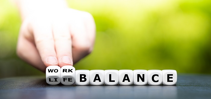 What are the signs of an unhealthy work-life balance?