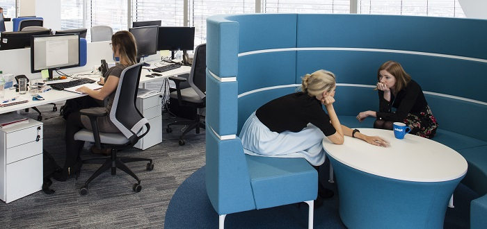 How can your office design promote workplace wellbeing?