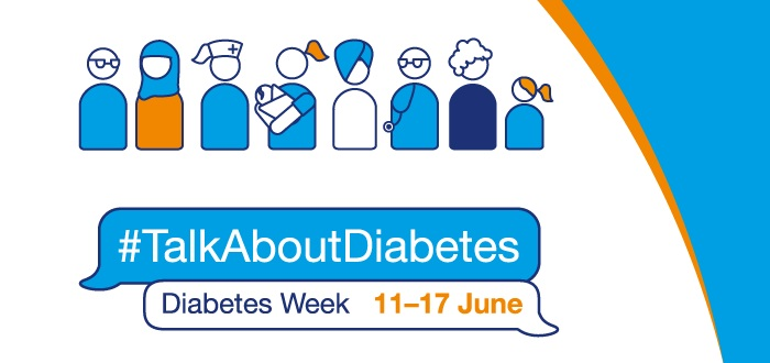 The poster for Diabetes Week 2018