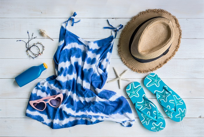 An image of summer beach clothes.